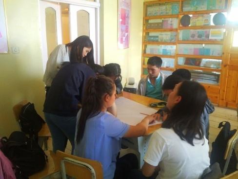 10th grade homeroom classroom