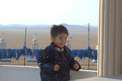 Tungaa's youngest son, age 4