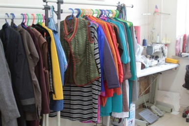 All handmade clothes