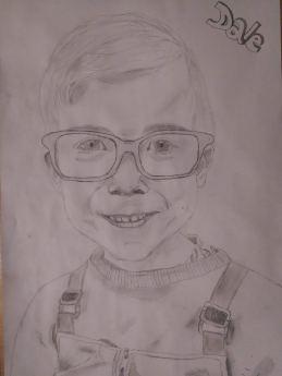 Drawing 4: Dale, my nephew