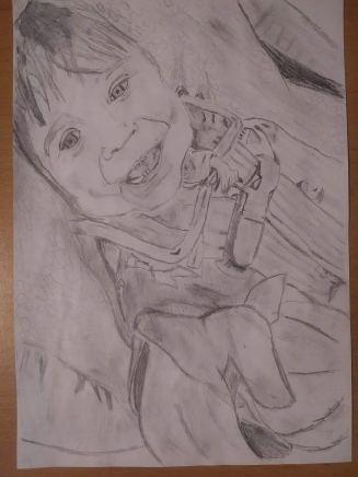 Drawing 8: My niece, Danica
